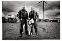 Ces deux jumeaux allemands sont surnommés les Twin Towers. Lommel, 2013.
