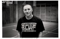 Elève à l'entrainement de la B.W.S. (Belgian Wrestling School). Lessines.