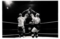 Shaolin Showman saute de la troisième corde lors du Big Impact 2013. Bronks. Bruxelles.